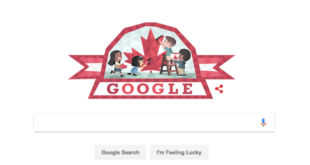 canada day google doodle