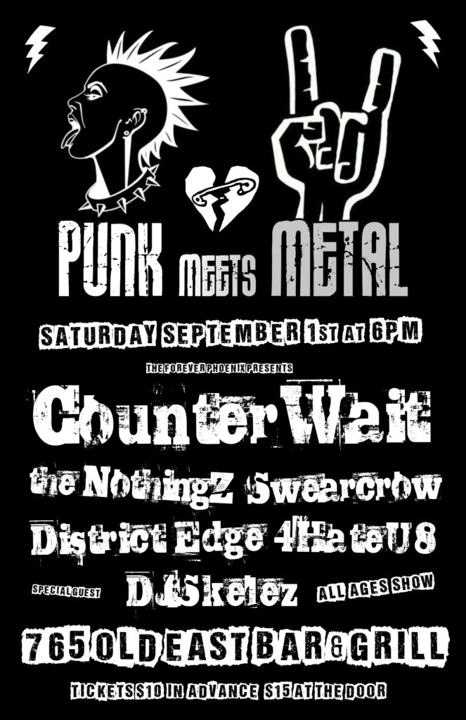 Punk Meets Metal Poster